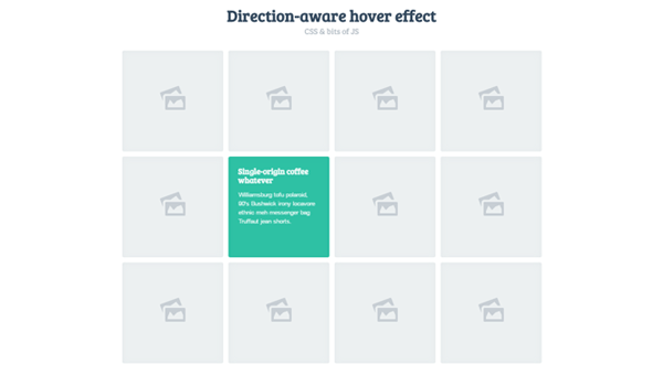 DIRECTION-AWARE 3D HOVER EFFECT