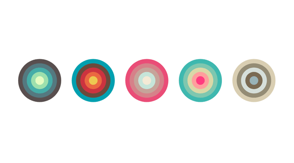 COLOR PALETTE CIRCLES