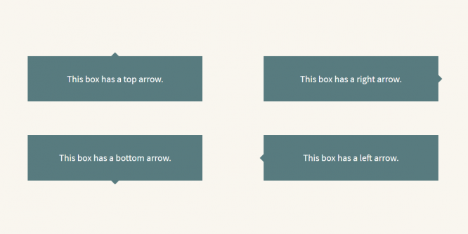 SASS @MIXIN FOR CSS ARROWS