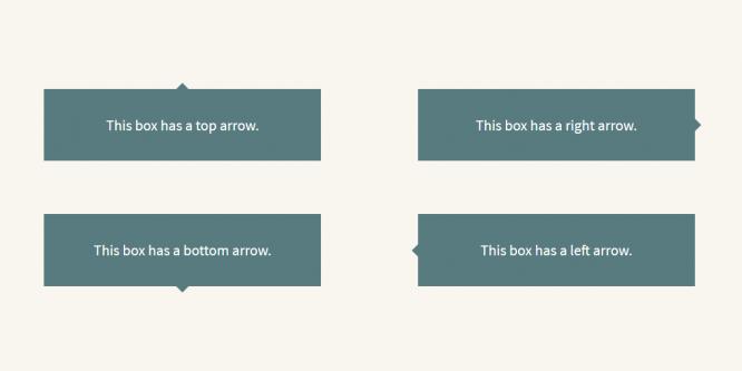 SASS @MIXIN FOR CSS ARROWS