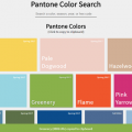 PANTONE COLOR SEARCH + CLIPBOARD