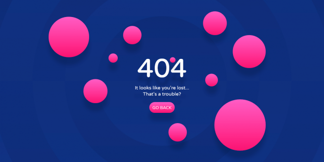 BUBBLY 404 PAGE