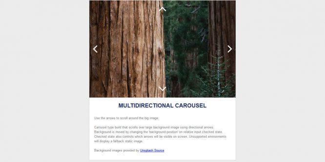 MULTIDIRECTIONAL EMAIL CAROUSEL