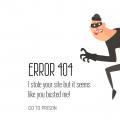 DARKNET 404 PAGE CONCEPT