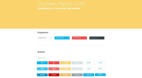DRUNKEN PARROT UI KIT: FREE VERSION