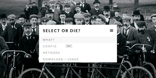 SELECT-OR-DIE