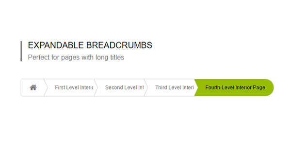 EXPANDABLE BREADCRUMBS