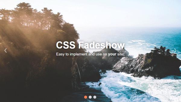 CSS FADESHOW