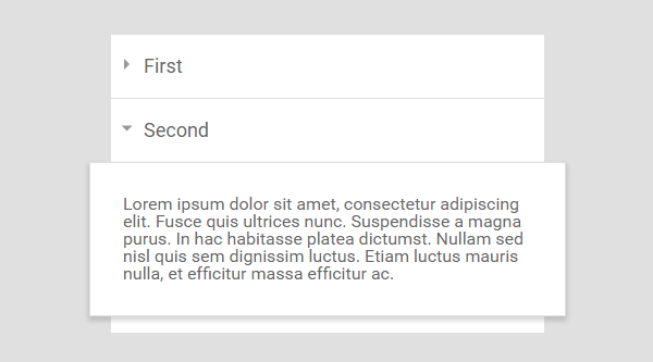 PURE HTML AND CSS ACCORDION