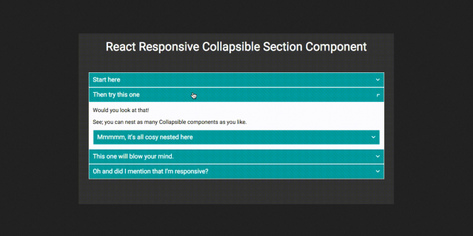 REACT-COLLAPSIBLE