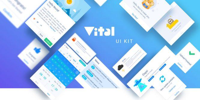 VITAL HTML UI KIT