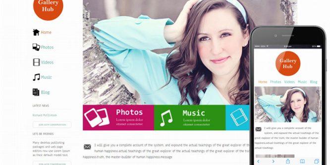 Gallery Hub entertainment website