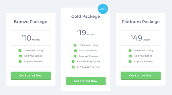 ADAPTIVE PRICING TABLE