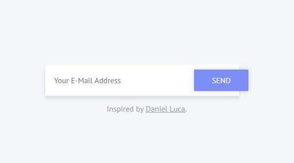 EMAIL INPUT FIELD