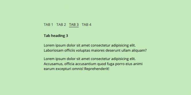 PURE CSS TABS WITH A HINT OF JS