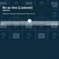 REACTIVE-LISTENER