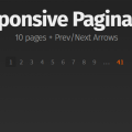 RESPONSIVE PAGINATION