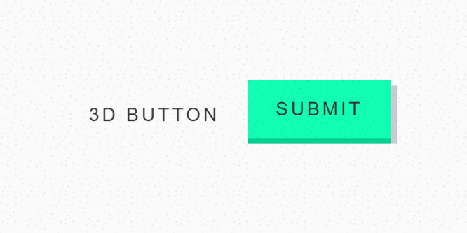"""3D"" ANIMATED BUTTONS"