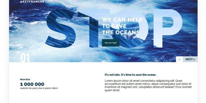 OCEANIC OVERLAYS SLIDER
