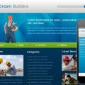 Dream Builders Website and Mobile Website for construction companies