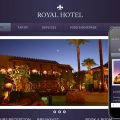 Hotel Royal Web Template and Mobile Web Template