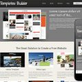 New Template Builder web template and mobile website template