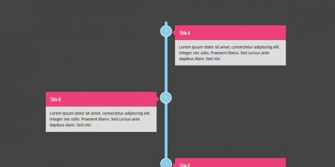 TIMELINE CREATED WITH CSS GRID