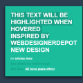 ANIMATED HIGHLIGHTED TEXT