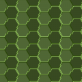 HEXAGONS PATTERN