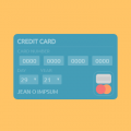 CREDIT CARD FLAT DESIGN