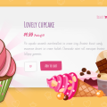 CSS ONLY CUPCAKE SLIDER