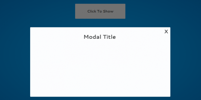 CSS ONLY LINE ANIMATED MODAL