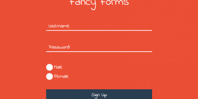 FANCY FORMS