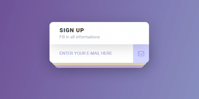 INTERACTIVE SIGN UP FORM