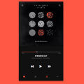 HTML, CSS AND JAVASCRIPT MUSIC PLAYER