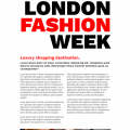 LONDON FASHION WEEK // CSS GRID