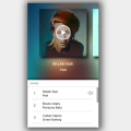 MUSIC PLAYER – MOBILE INTERFACE CAROUSEL