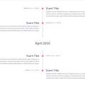 SIMPLE RESPONSIVE TIMELINE