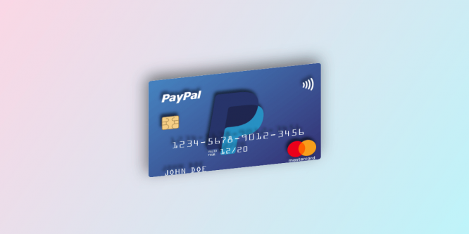 3D FLOATING CREDIT CARD
