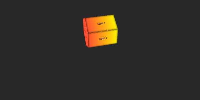 CSS 3D HEXAGON