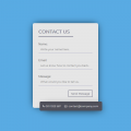 CONTACT FORM UI