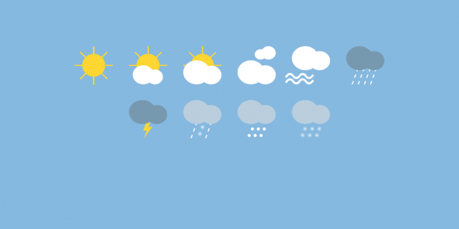 CSS WEATHER ICONS