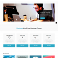 Bootstrap template for corporate – Moderna