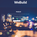 Free bootstrap coming soon template with countdown – WeBuild