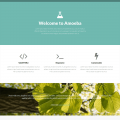 Free one page bootstrap template – Amoeba