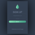 SIGN UP FORM UI