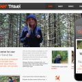 Ticker Travel web and mobile website template