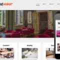 Wood Maker web and mobile website template