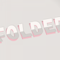 CSS ONLY 3D PAPER FOLD TEXT EFFECT
