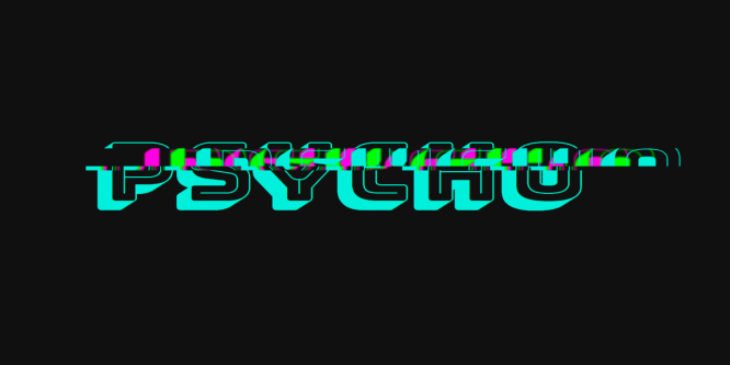 PSYCHO GLITCH WITH CSS VARIABLES & @KEYFRAMES